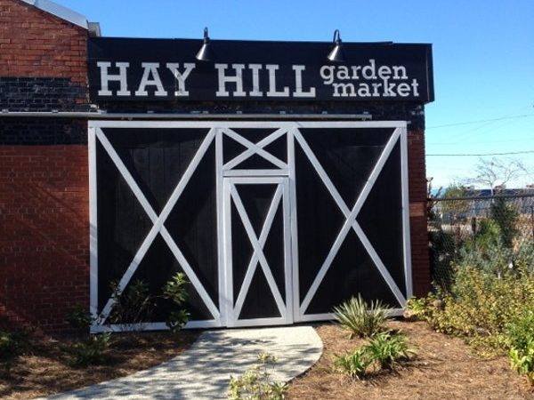 Hay Hill Garden Market Barn Door